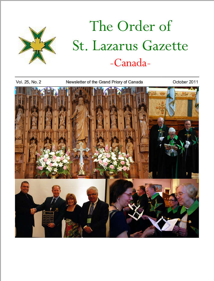 The Gazette, October 2011, Vol. 25, No. 2