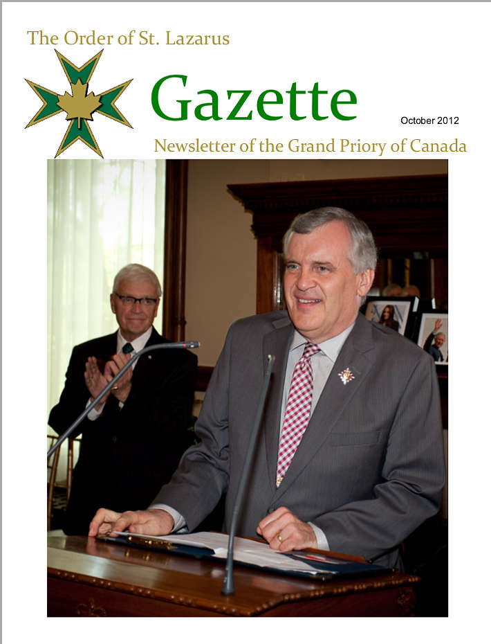 The Gazette, October 2012, Vol. 26, No. 2